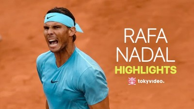 Rafa Nadal highlights