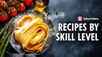 Recipes by skill level