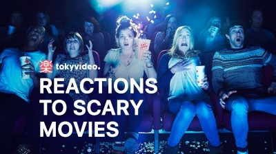 Reactions to scary movies