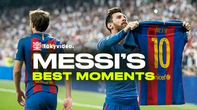Messi's best moments