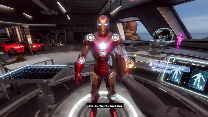 Tony Stark S Garage Will Be In Iron Man Vr Tokyvideo