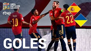 Full Highlights Spain Vs Ukraine 4 0 Uefa Nations League 2020 Tokyvideo